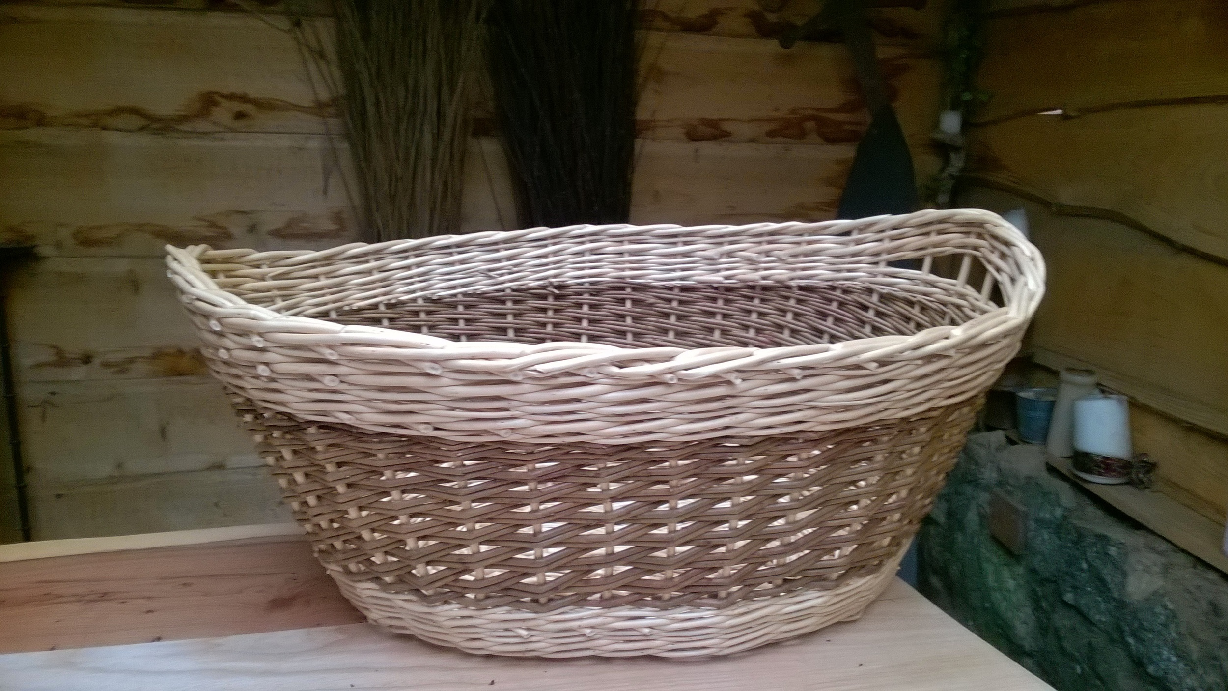 Oval Laundry Basket £45