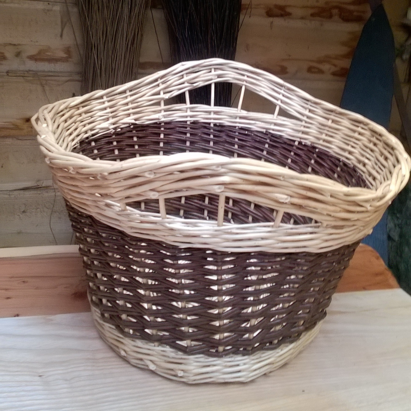 Small Log Basket £45