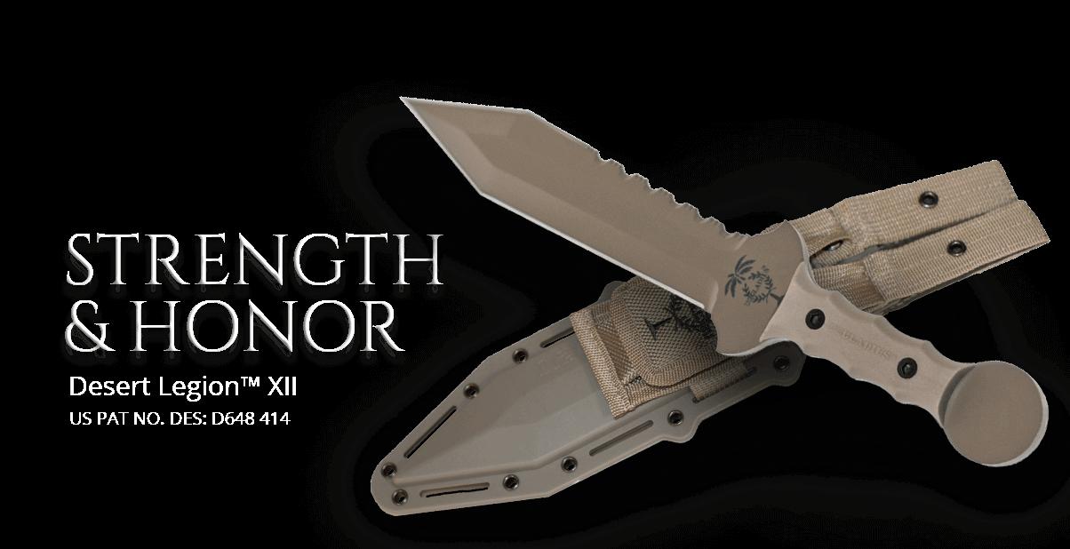 Desert Legion Tactical Gladius Knife