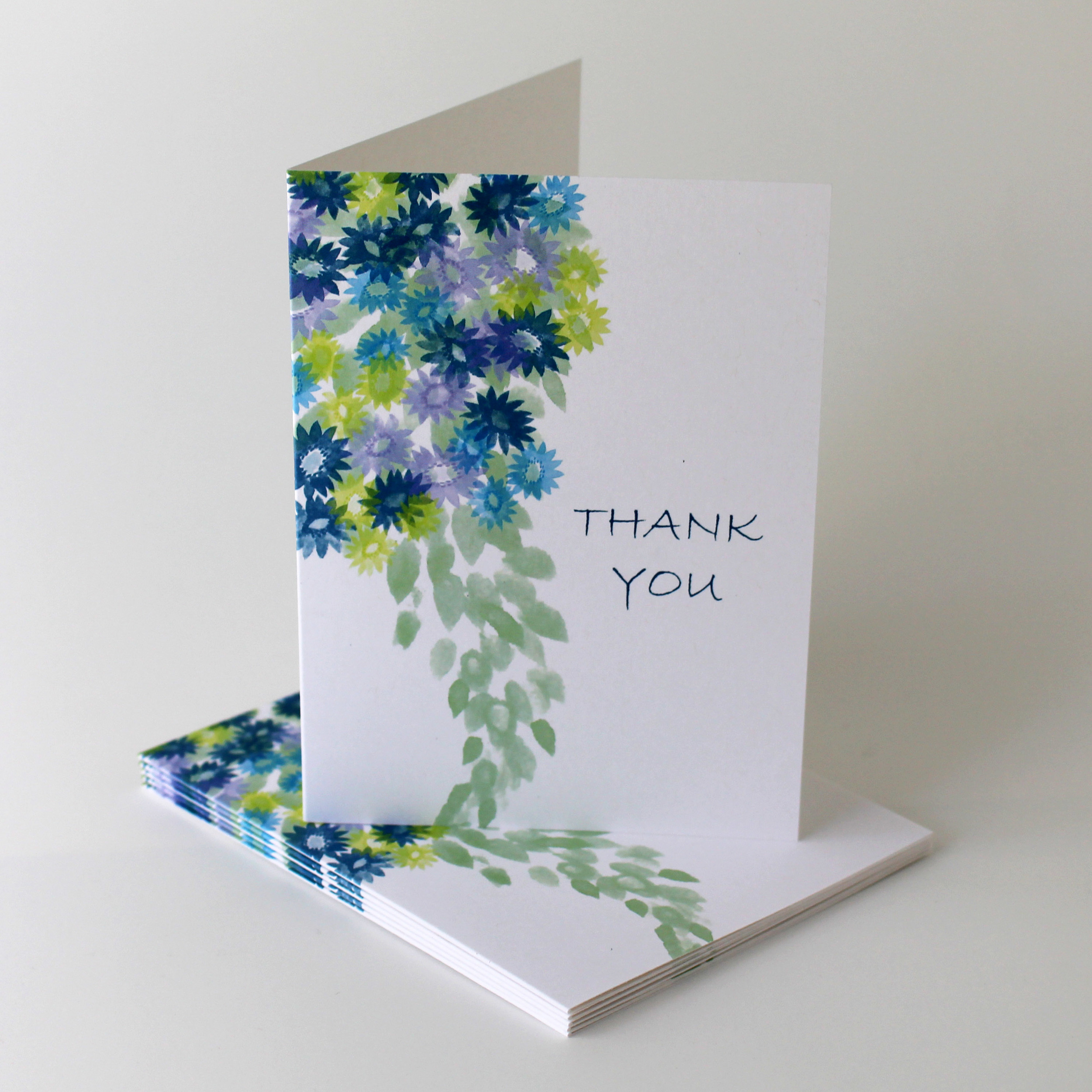 Cafe Notes + Company Thank You Card