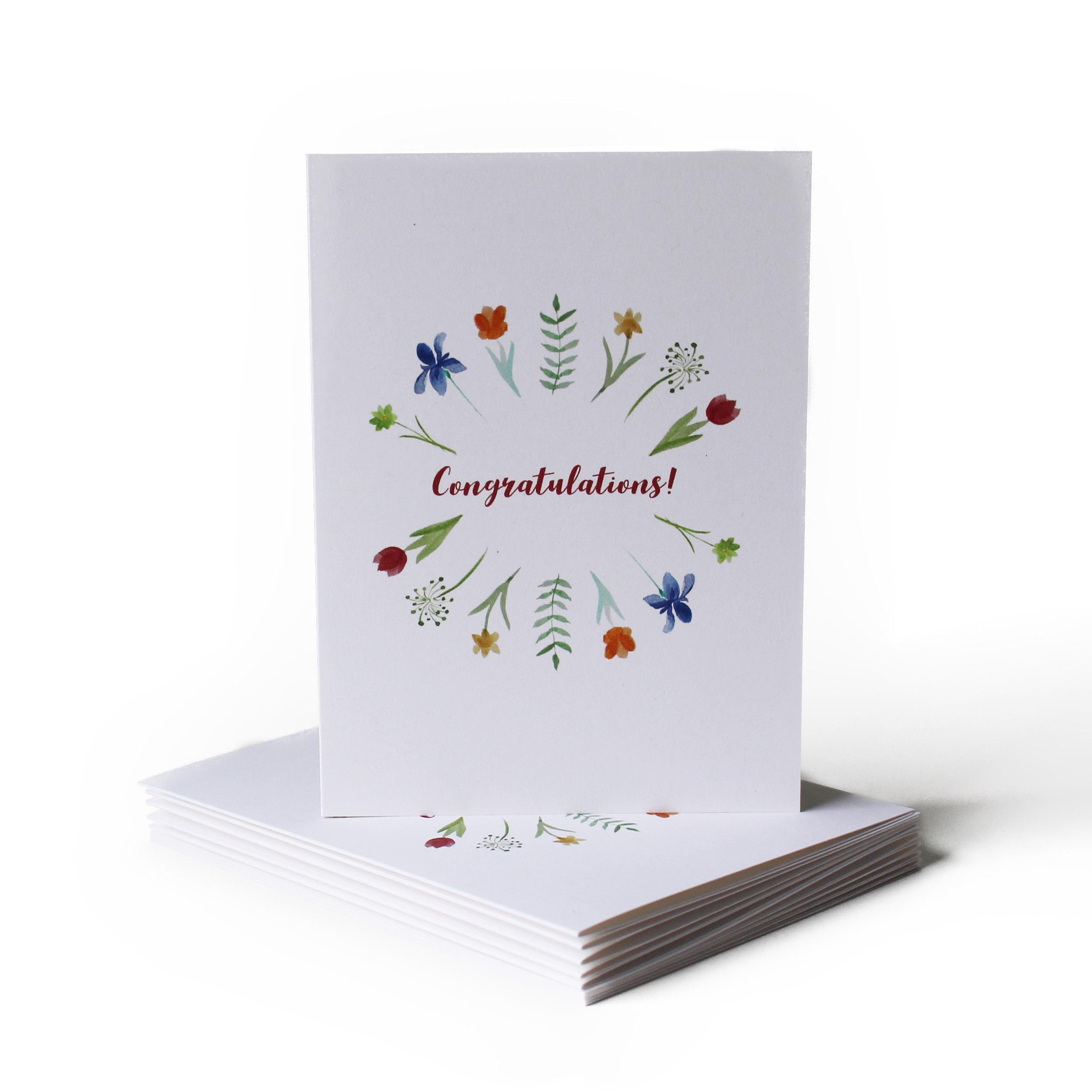 Spring Congratulations Greeting Card