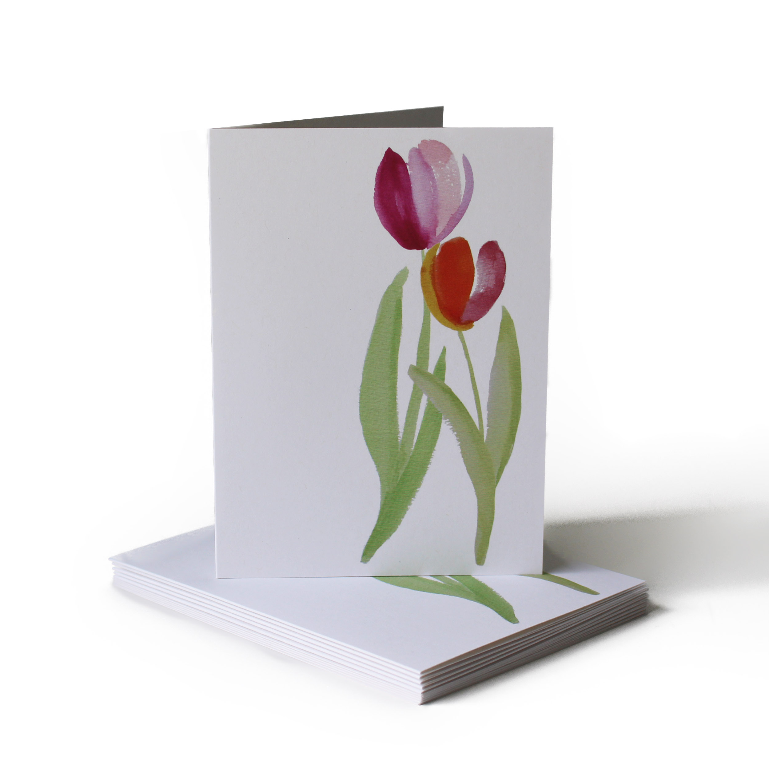 Tulip Just Because Greeting Card