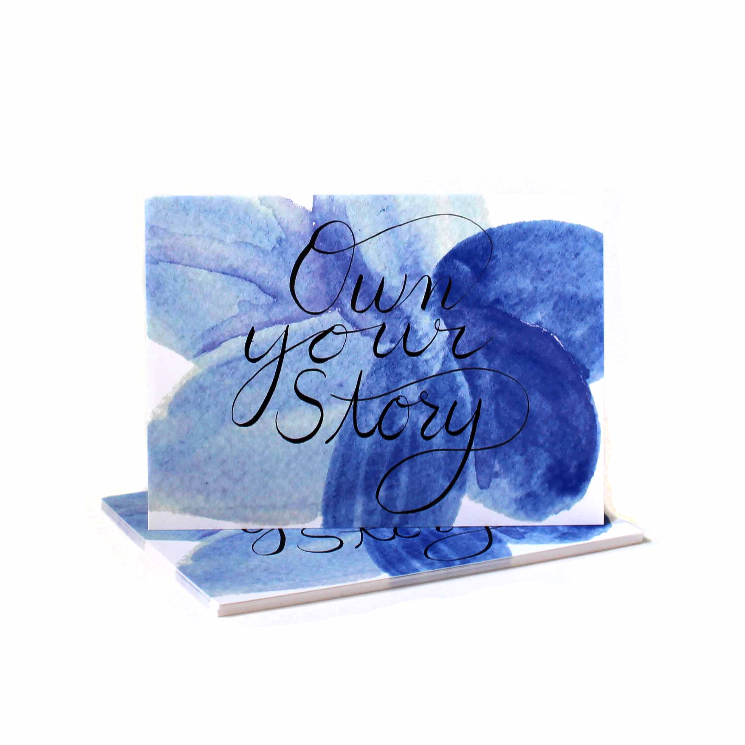 Own Your Story Notecard