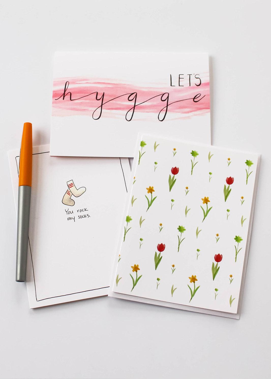 Cafe Notes + Company Hygge Socks + Flower Pattern.jpg