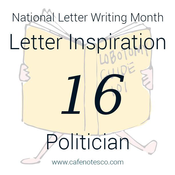Cafe Notes + Company April Letter Challenge 16 - Politician.jpg