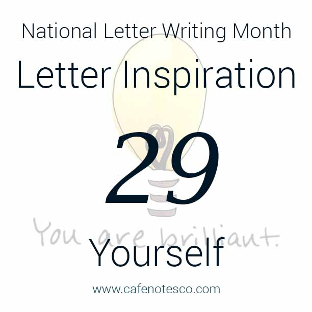 Cafe Notes + Company April Letter Challenge 29 - Yourself.jpg