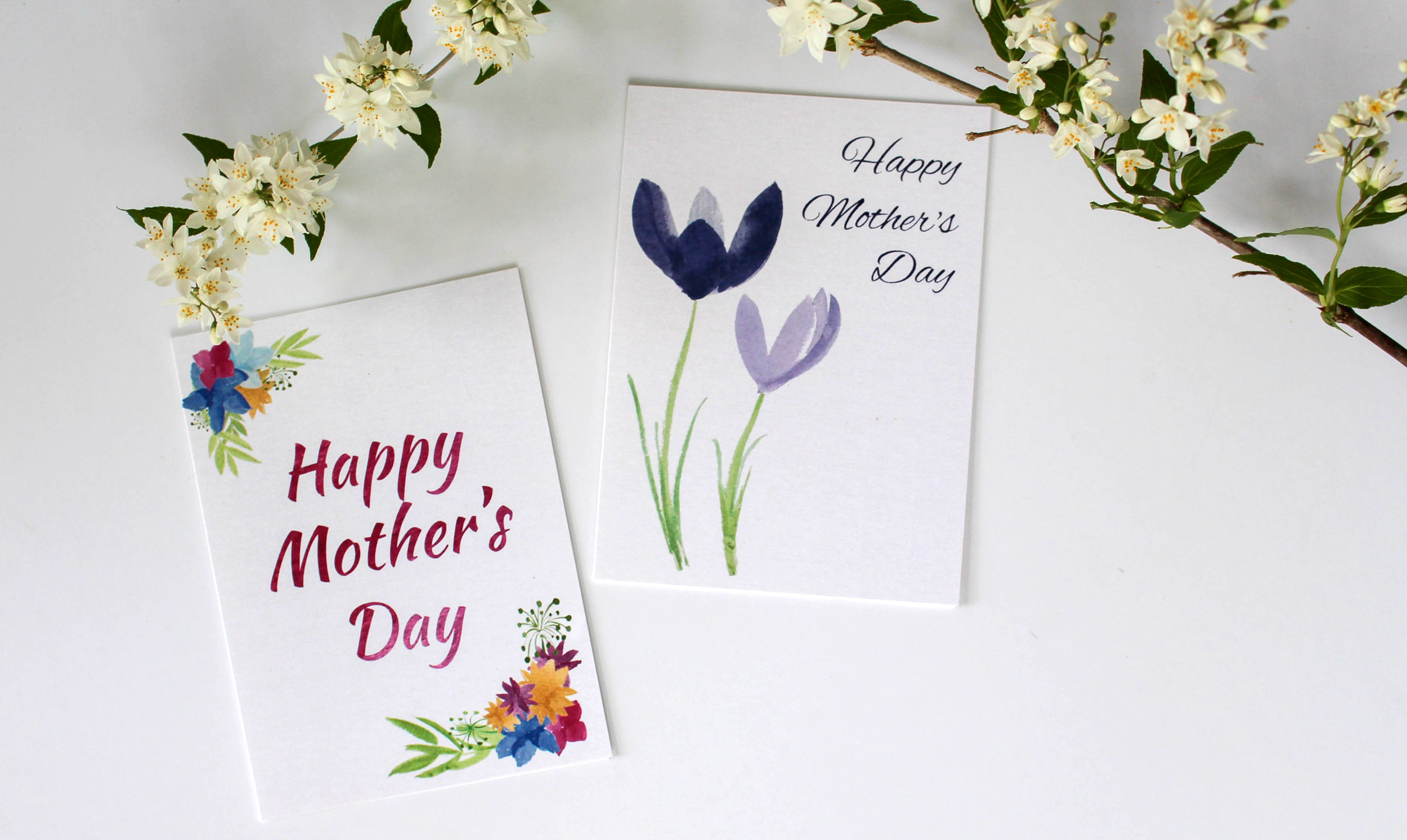 Cafe Notes + Company Mother's Day Cards and Flower Branch.jpg