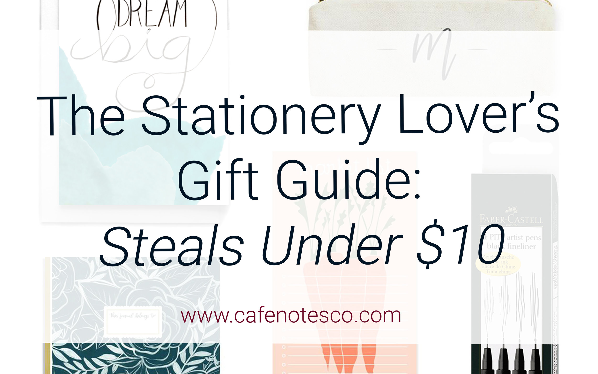 Cafe Notes + Company Stationery Lover's Gift Guide Steals Under $10.jpg