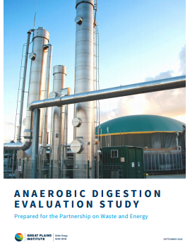 Anaerobic Digestion: a strategy to produce renewable energy & increase waste recycling