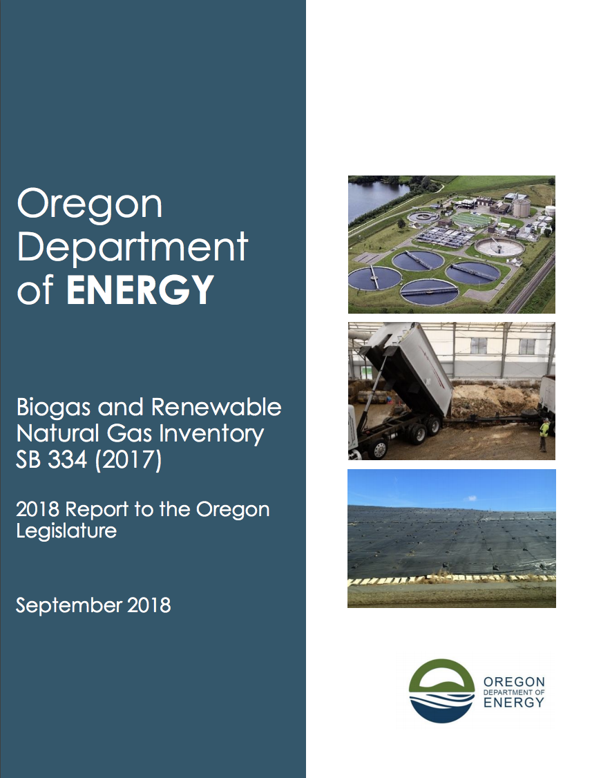 analysis of current technology & barriers to produce & use rng in oregon