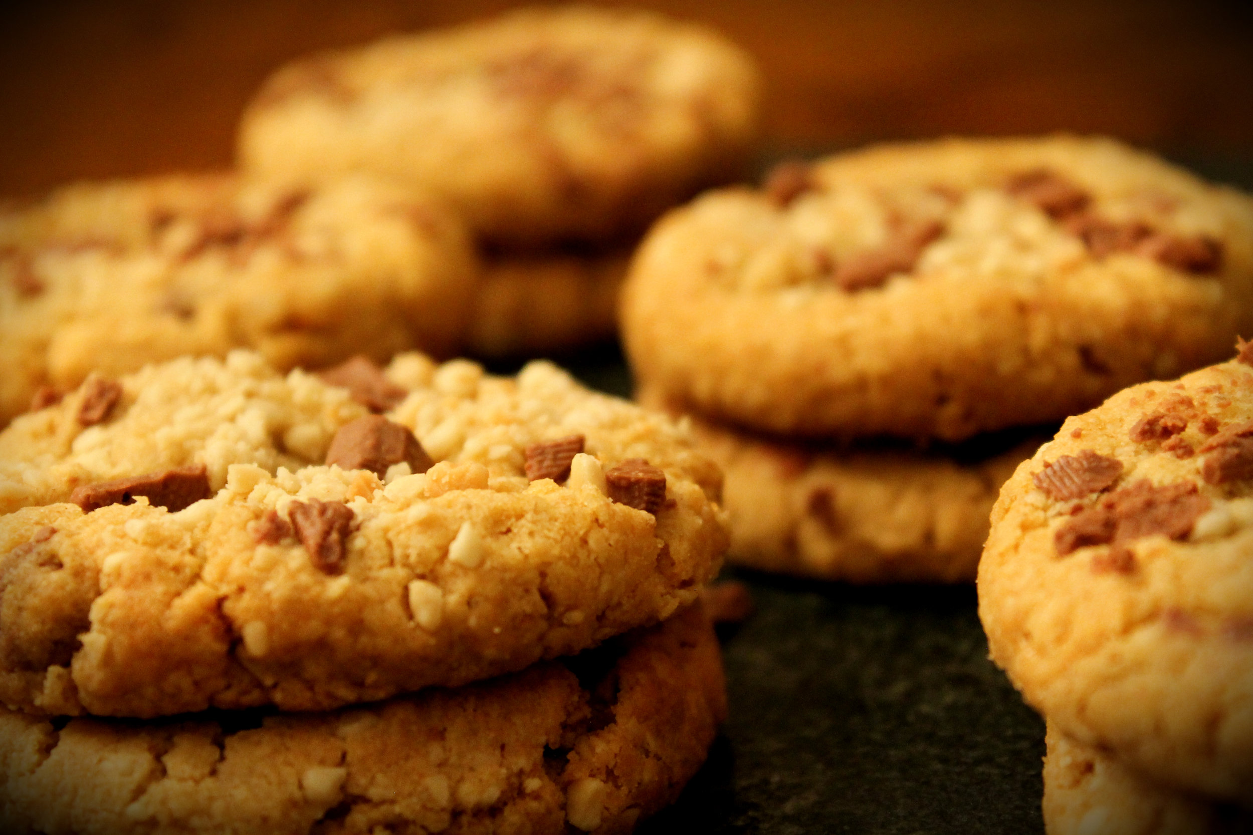 The Captain's Cafe Cookies- Peanut & Milk Chocolate