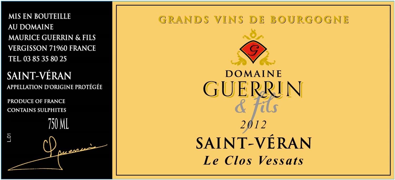 St Malo Fil Rouge france - burgundy labels — weygandt-metzler importing