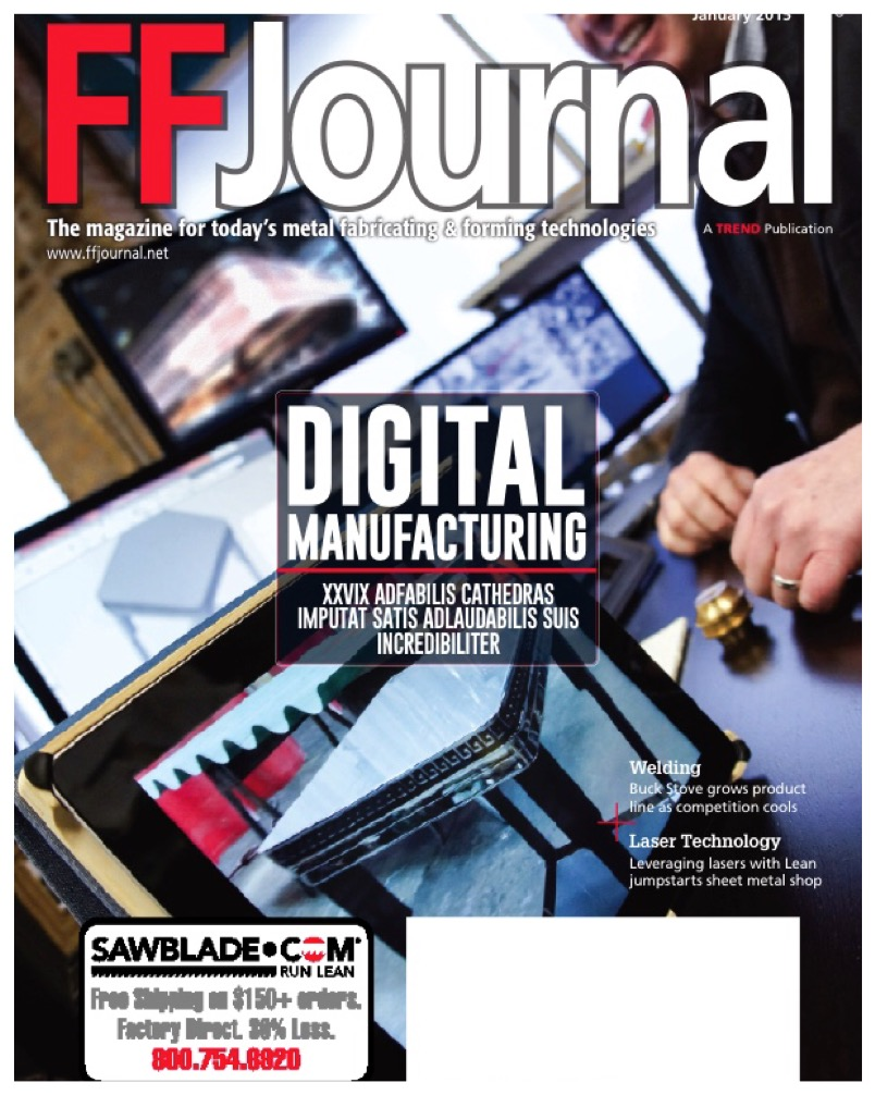 FF Journal Cover Digital Manufaturing