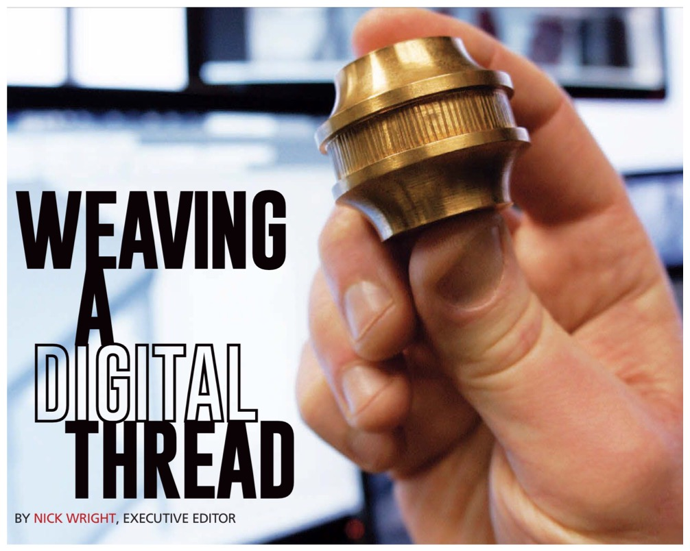 """Weaving a digital thread"""