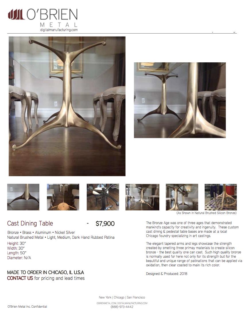 180615_O'Brien Metal Inc._Cast Bronze Dining Table Base_Product Cut Sheet.jpg