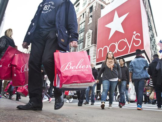 Macy's plans to restructure its business after not meeting its sales quota for 2015. Image via usatoday.com (Photo: AP)
