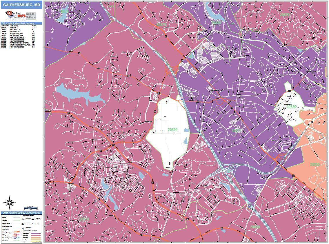African American Population in Gaithersburg, MD