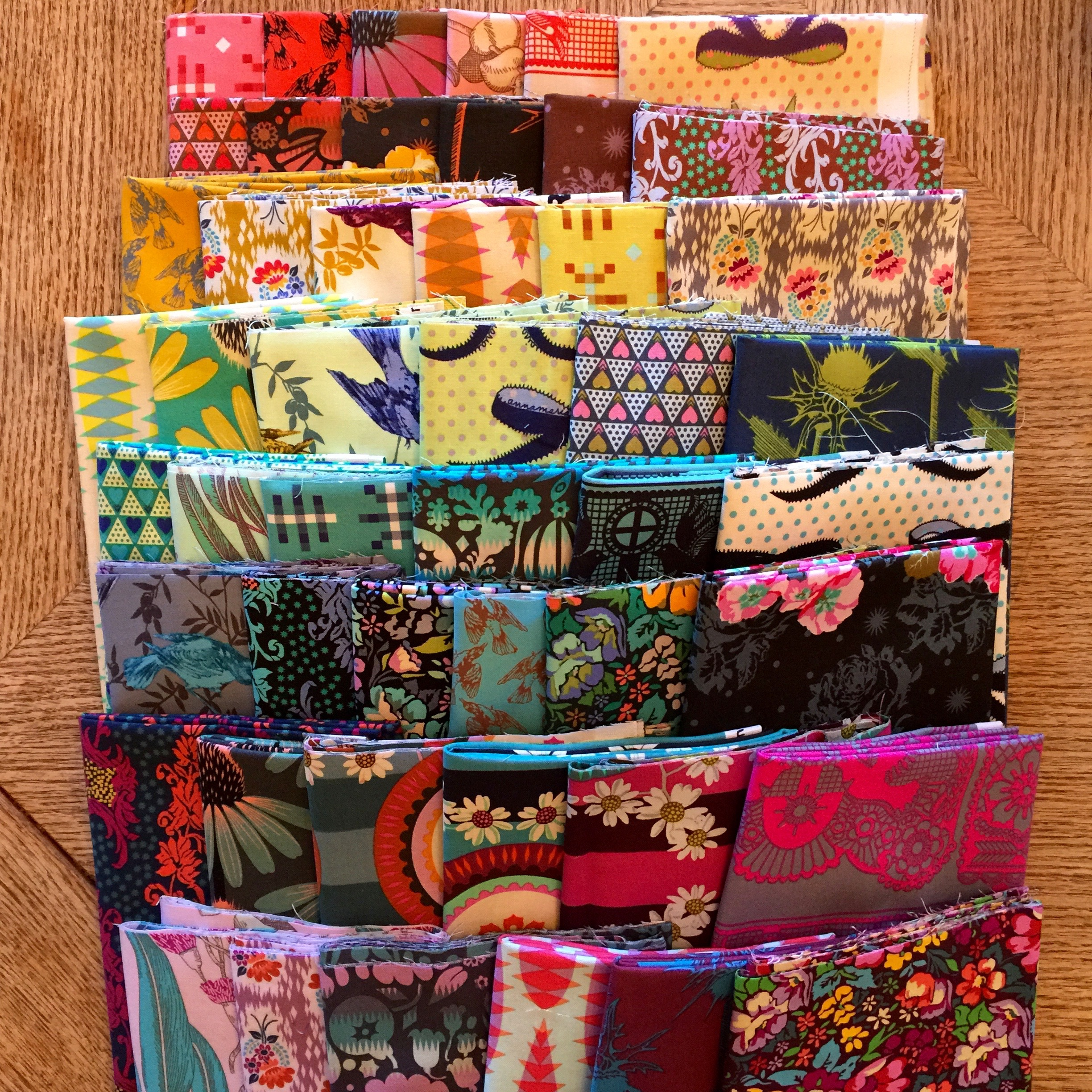 What do you do when you don't love the fabric you picked for your quilt?