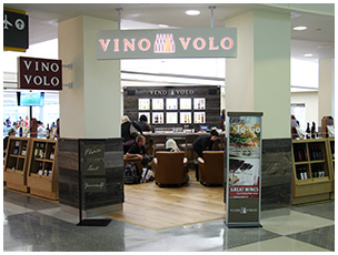 Vino Volo at Louis Armstrong International Airport