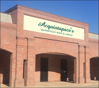 Acquistapaces Wine and Cheese Mandeville