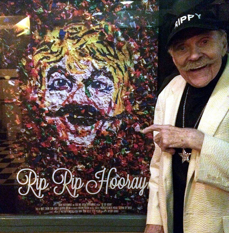 Photo from  Rip Taylor's Facebook