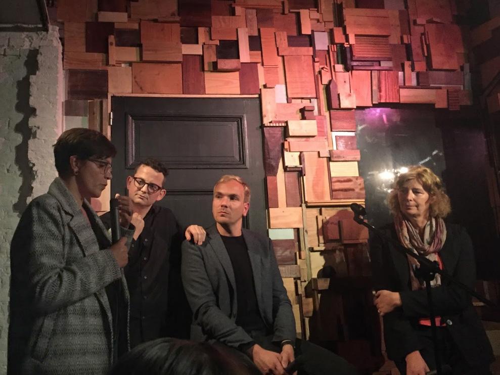 Stéphanie De Maesschalck en het panel