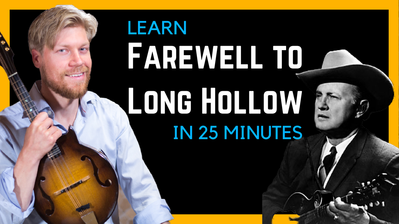 Farewell To Long Hollow by Bill Monroe