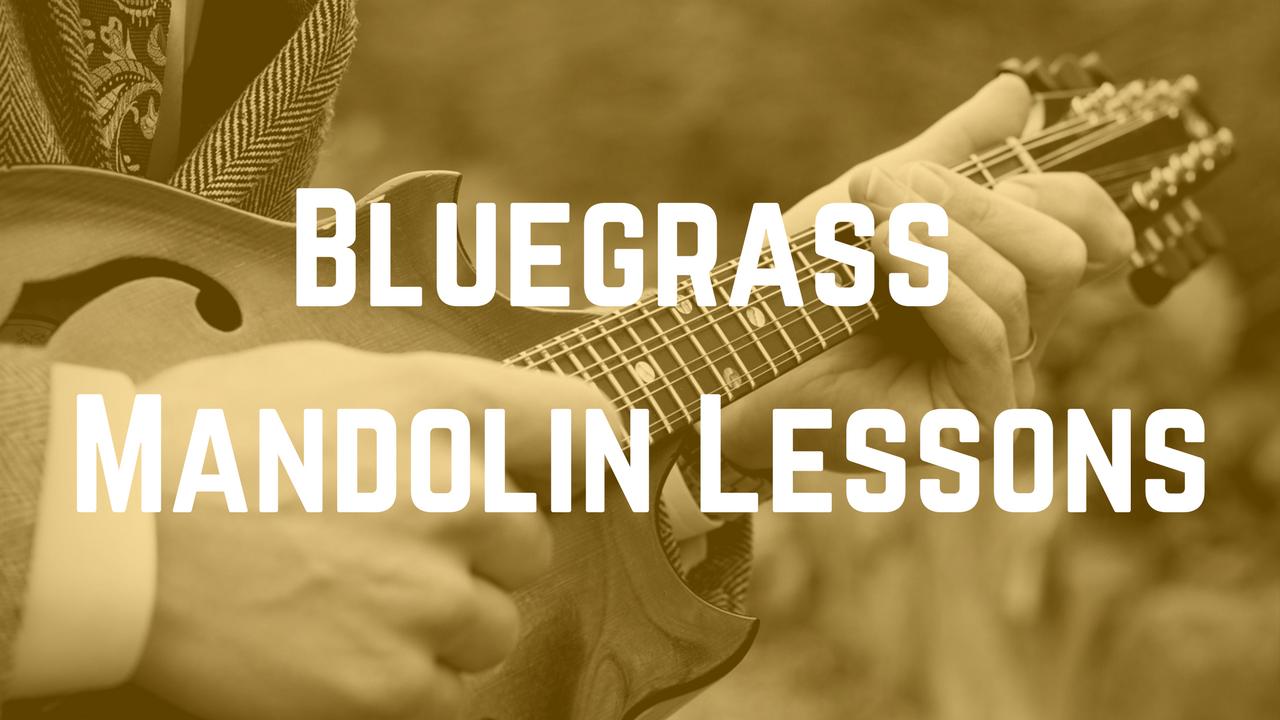 Bluegrass Mandolin Lessons