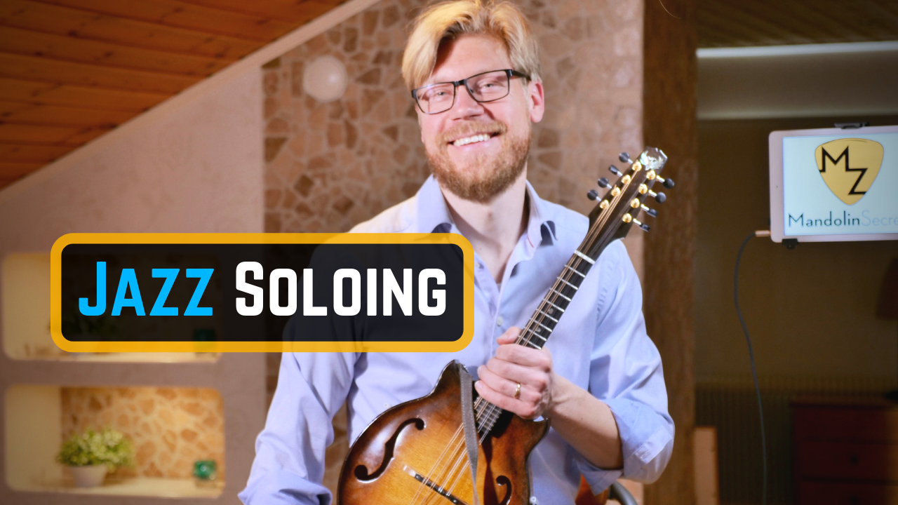 "In this video lesson I'm giving you tips on a starting point learning how to solo and improvise on jazz standards and other songs. The example given is the tune ""All of me""."