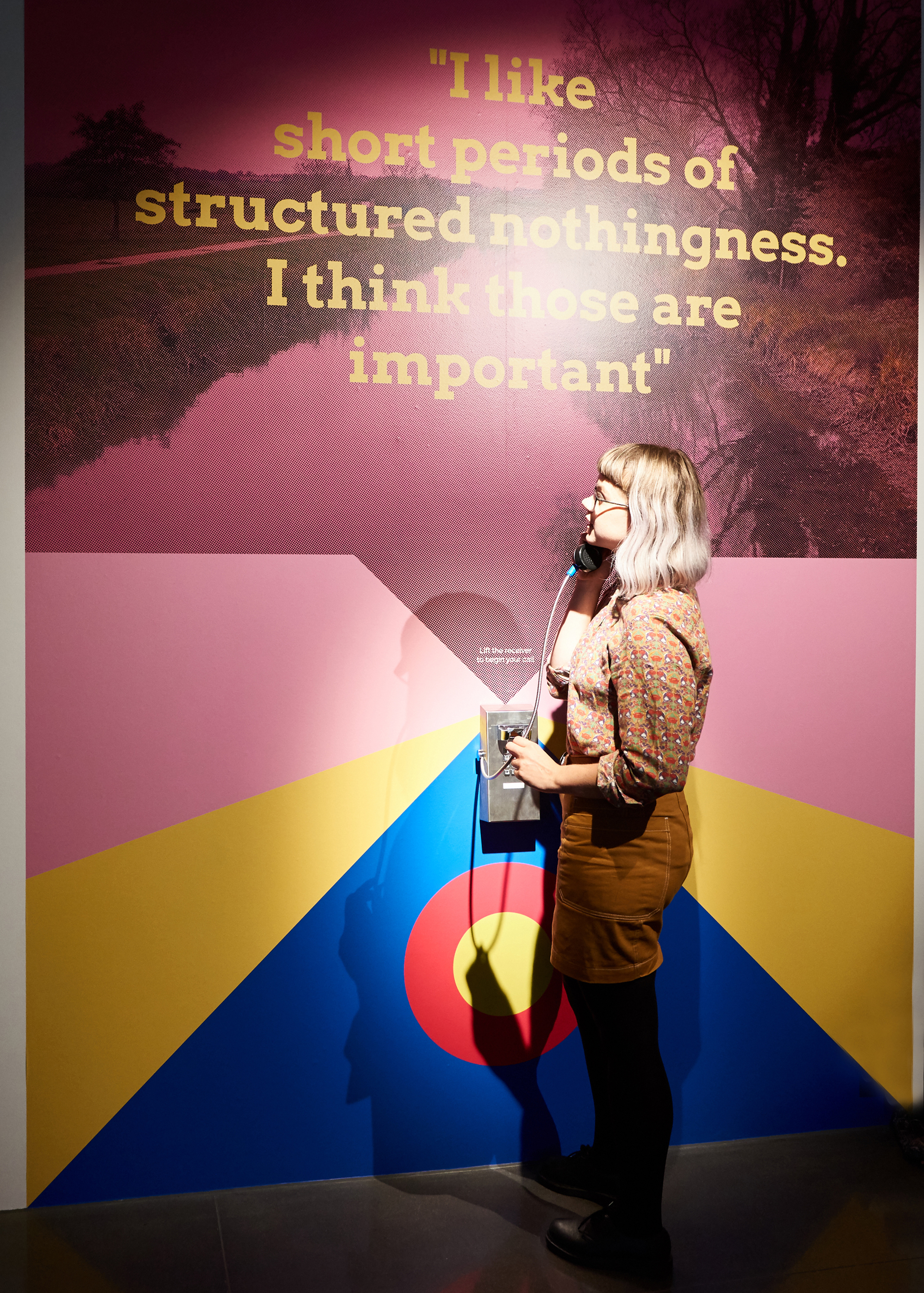 HOOKED, Science Gallery London (Short Periods of Structured Nothingness by Blast Theory) © Alex Lloyd
