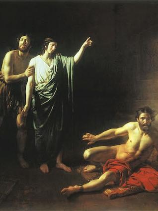 Joseph Interprets the Prisoners' Dreams