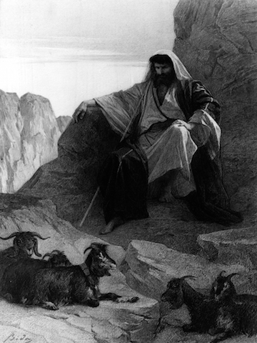 Moses in the Wilderness