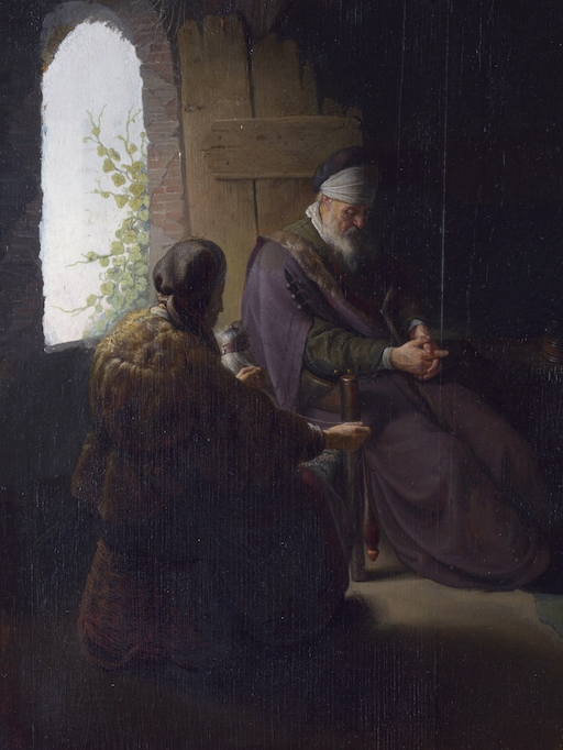Previous   SESSION  Tobit Excerpts: Ch. 2, 5, 10 The Wife of A Patriarch