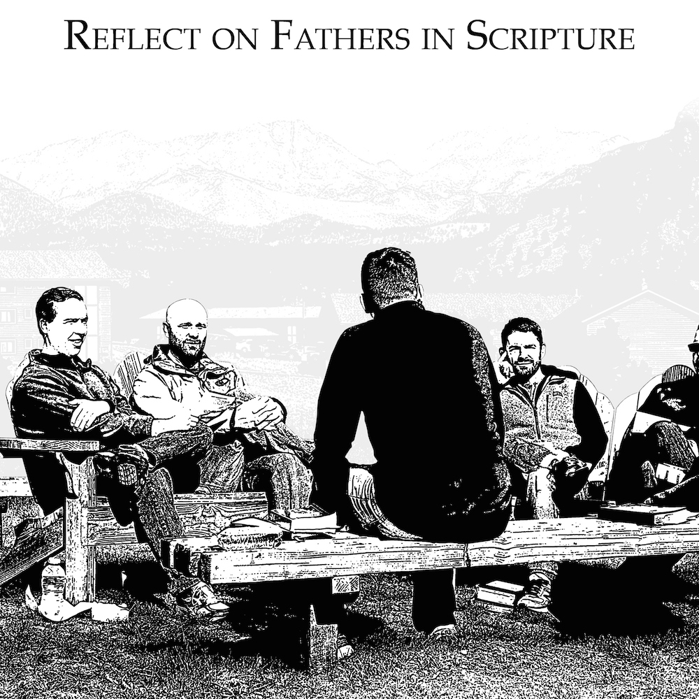 Men reflect on the fatherhood of characters in scripture and discuss the correlation to their own lives.