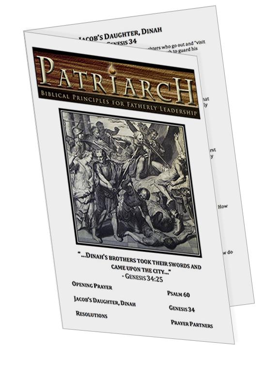 Genesis 34 - Printable Download