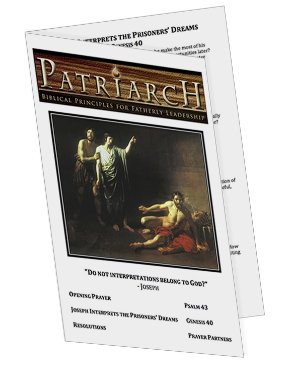 Genesis 40  - Printable Download