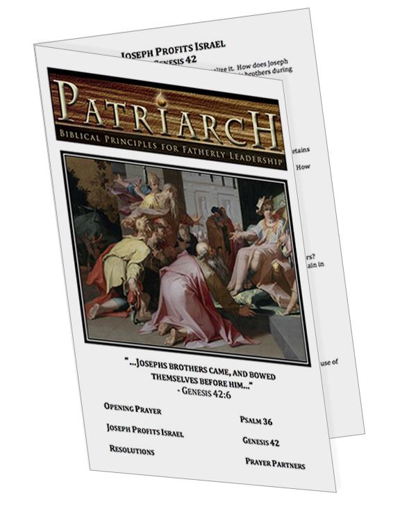 Genesis 42  - Printable Download
