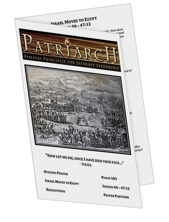 Genesis 46  - Printable Download
