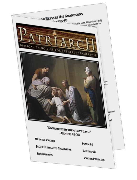 Genesis 48  - Printable Download