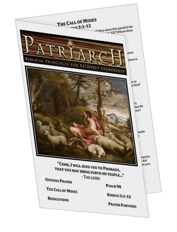 Exodus 3 - Printable Download