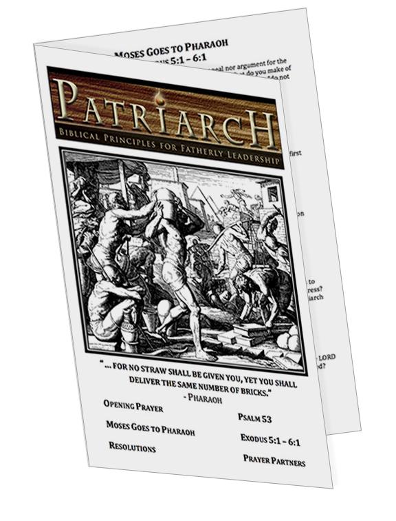 Exodus 5 - Printable Download