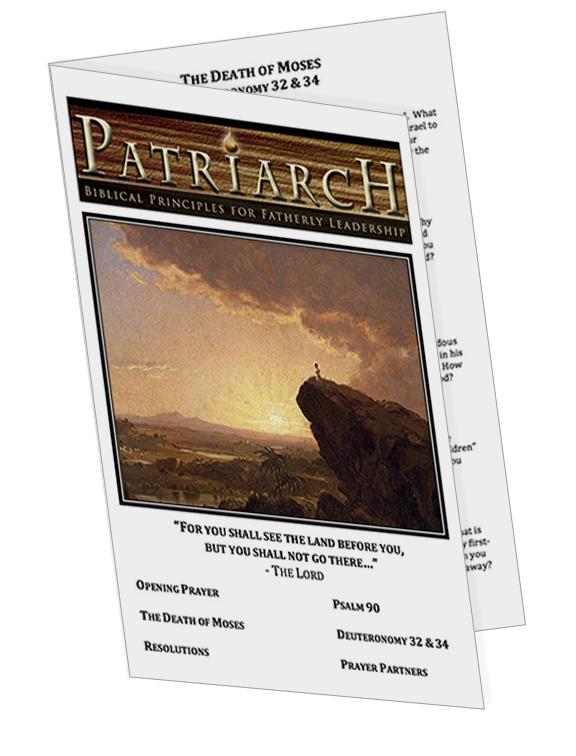 Deuteronomy 32 & 34 - Printable Download
