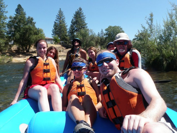 Rafting the South Fork