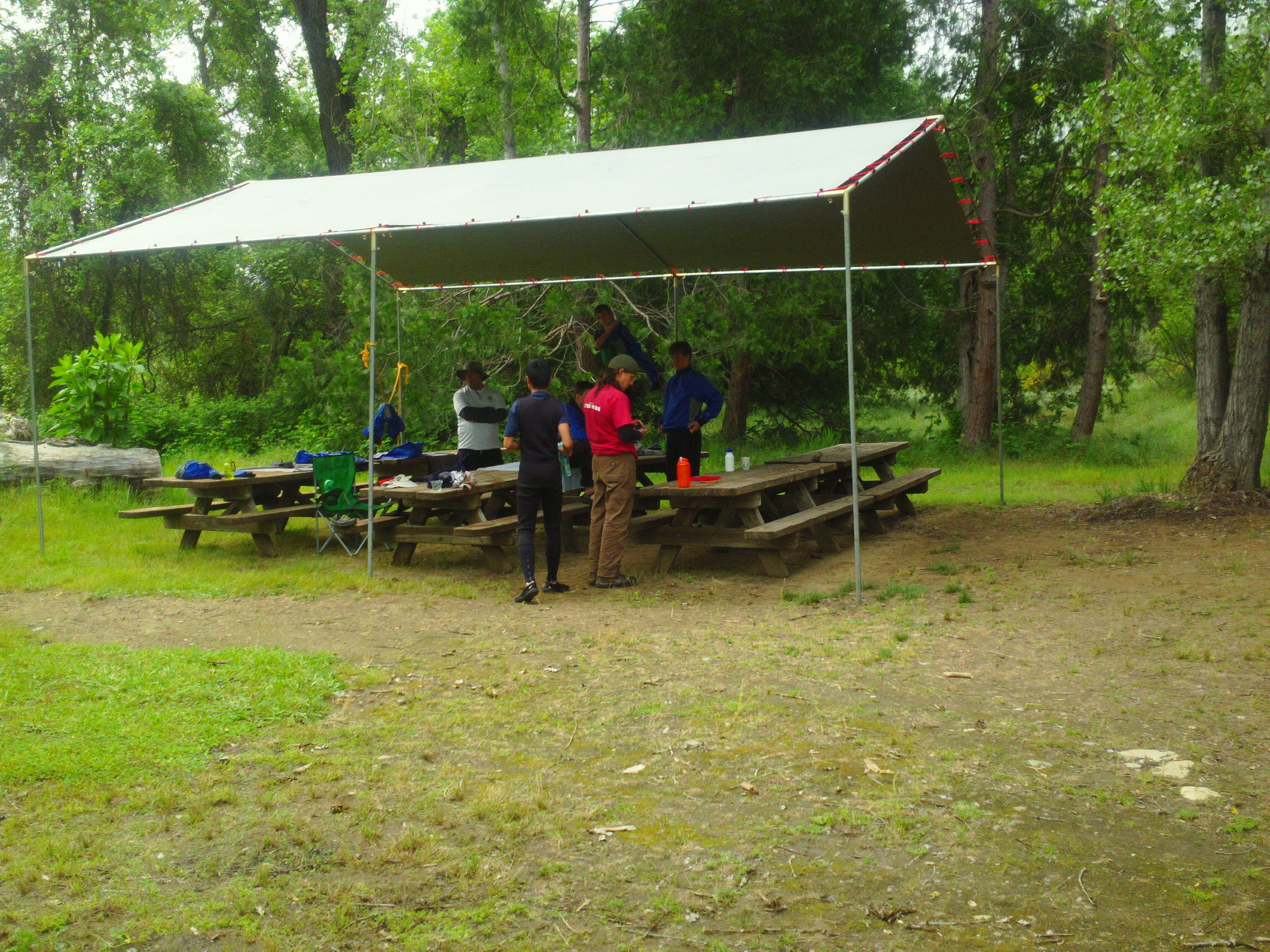 Caterered camping is our specialty!