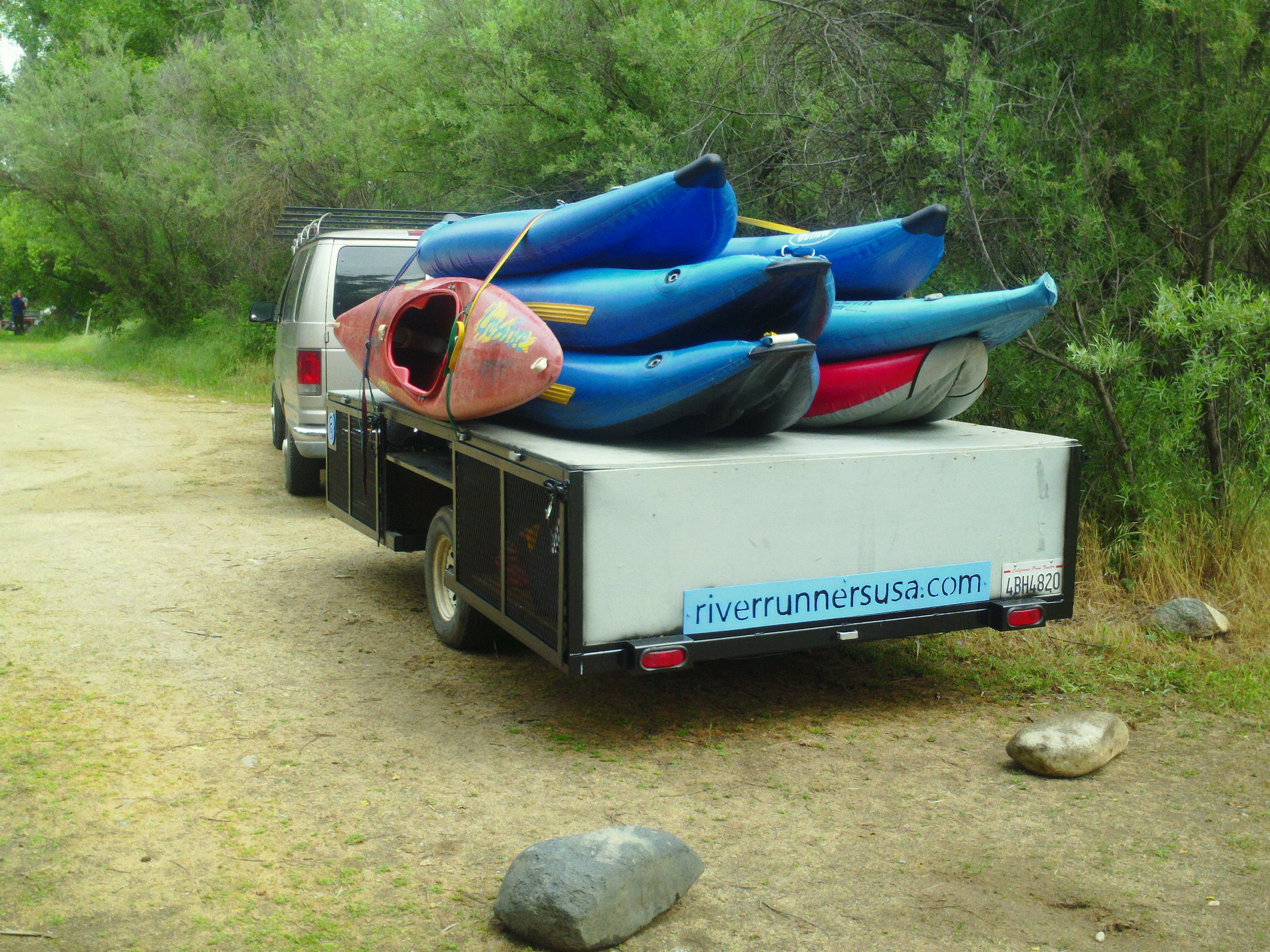 Ready to kayak the South Fork