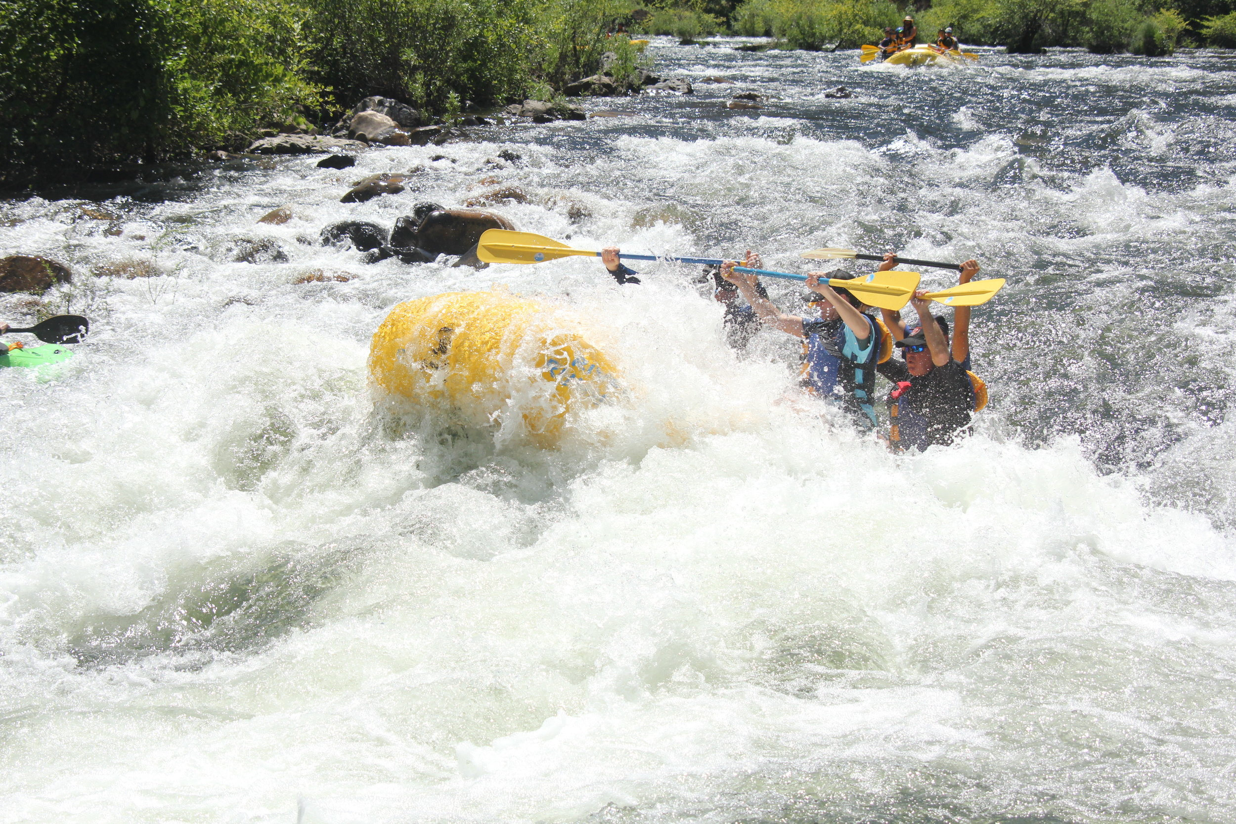 Whitewater Rafting American River