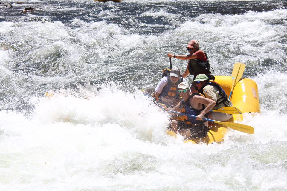 The South Fork has miles of exciting rapids!