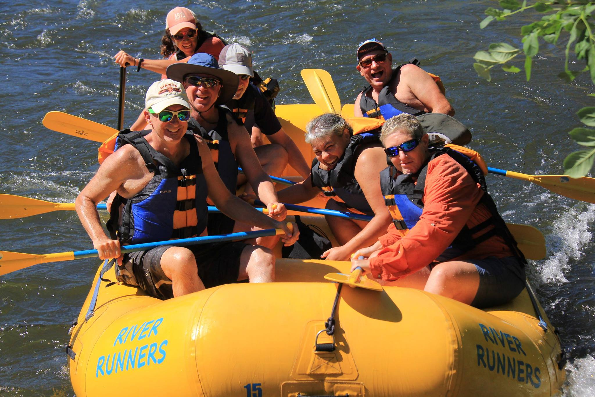 rafting american river