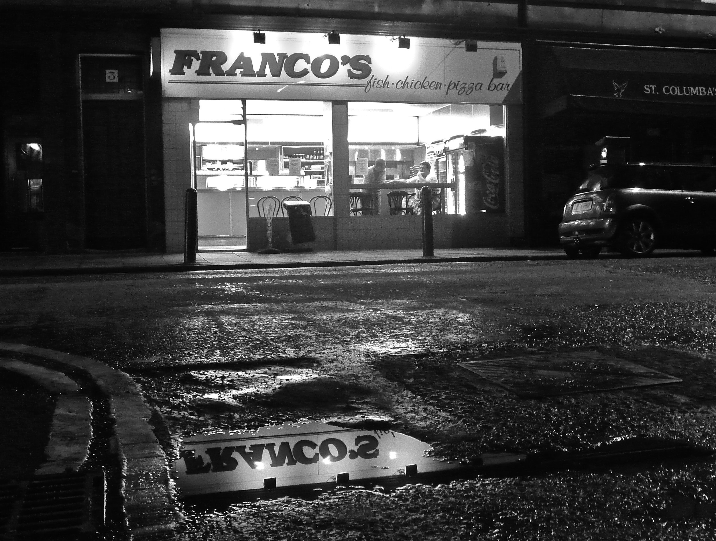 Franco's, captured by local, Nigel Clark