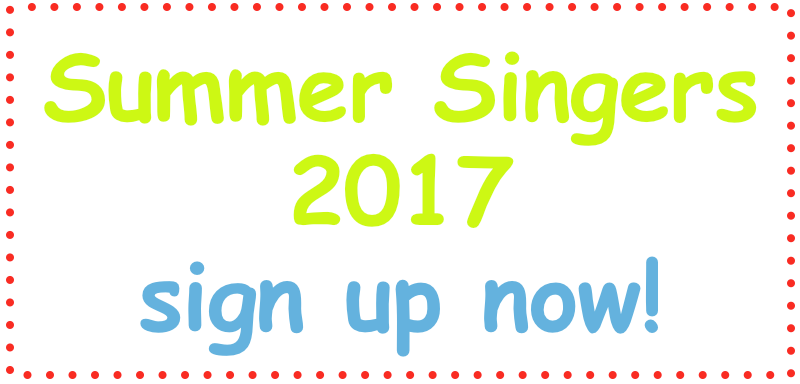 Summer Singers 2017